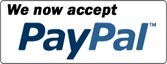 You don't need a Paypal account to use our Paypal facility