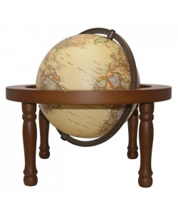 Heritage Embossed Antique in a Stand World Globe