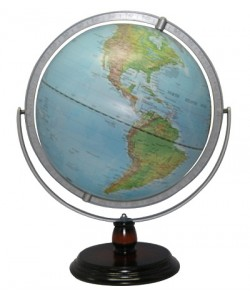 Heritage Blue Ocean Physical World Globe