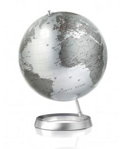 Vision Silver World Globe
