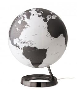Light & Colour Charcoal World Globe
