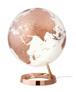 Light & Colour Copper World Globe