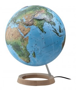 Full Circle Classic Relief FC4 World Globe