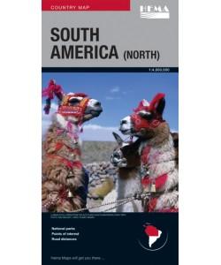 South America North Map