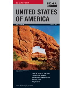 United States of America  Deluxe Map