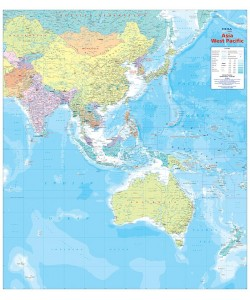 Asia Pacific Wall Maps