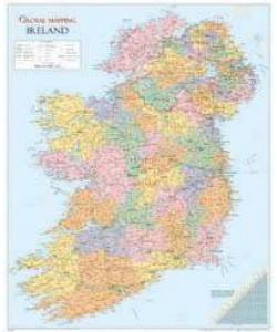 Ireland Wall Map