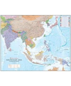 South East Asia Wall Map