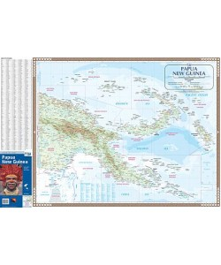Papua New Guinea Wall Map