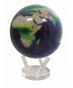 "8.5"" Satellite Image Natural Earth World Globe"