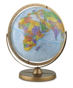 Pioneer World Globe