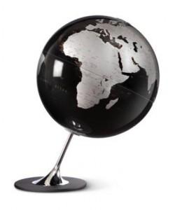 Anglo Black World Globe