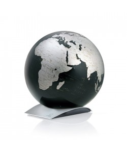 Capital Q Black  World Globe
