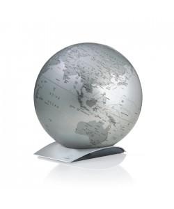 Capital Q Silver World Globe