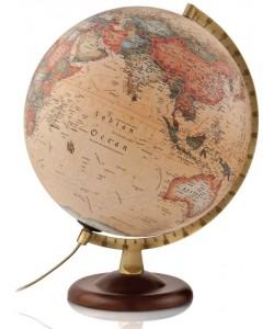 Classic A4 Antique World Globe
