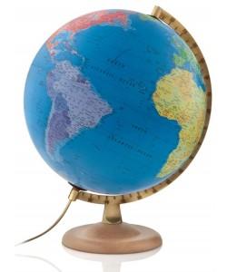 Classic P4 Blue Ocean Political World Globe