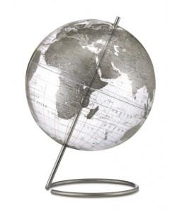Crystal Marquise World Globe