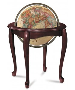 Queen Anne World Globe