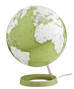 Light & Colour Pistachio World Globe