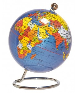 Desktop World Globe - Classic 10cm