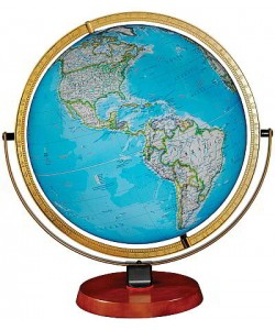 Nicollet World Globe