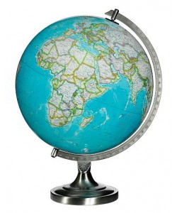 Bartlett World Globe
