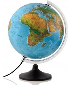 Solid B Blue Ocean Physical World Globe