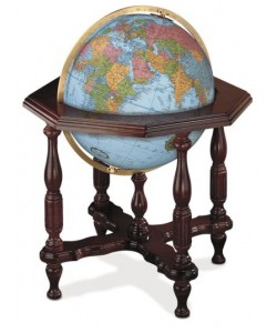 Statesman Blue World Globe
